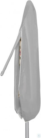 Gray Large Outdoor Umbrella Cover with Sewn in Wand