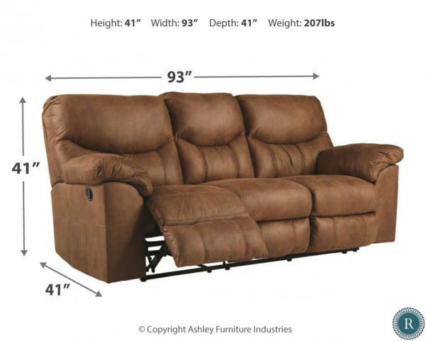 Boxberg Brown Reclining Sofa From Ashley Coleman Furniture