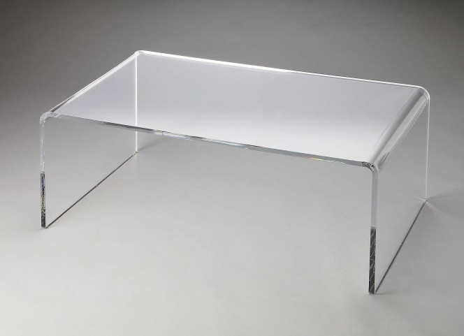 Crystal Clear Loft Cocktail Table