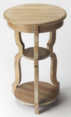 Plantation Cherry Sloane Driftwood Tiered Accent Table