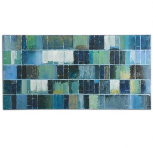 Glass Tiles Modern Art