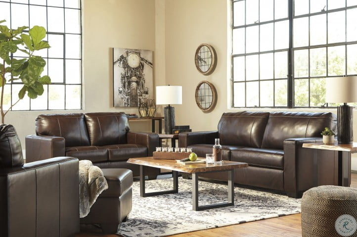 Morelos Chocolate Living Room Set