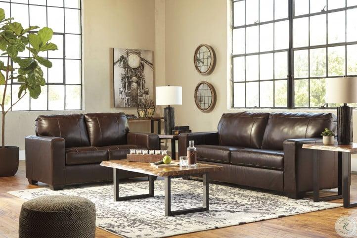 Morelos Chocolate Living Room Set