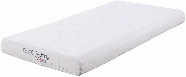 Joseph 6 Twin Memory Foam Mattress From Coaster Coleman Furniture