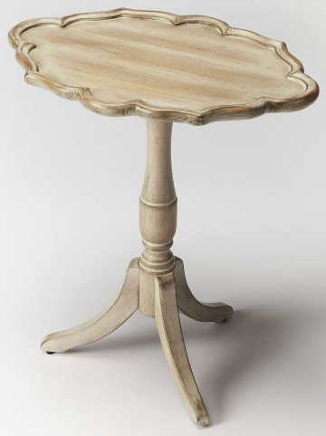 Higgins Driftwood Oval Pedestal Table