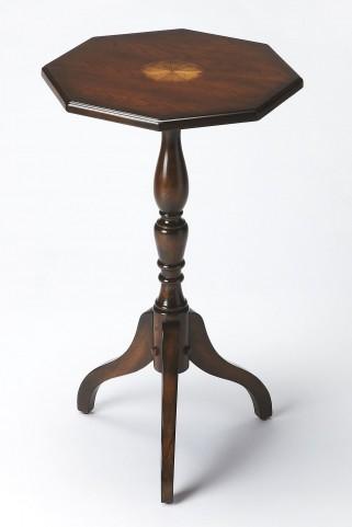 Plantation Cherry Octagonal Pedestal Table