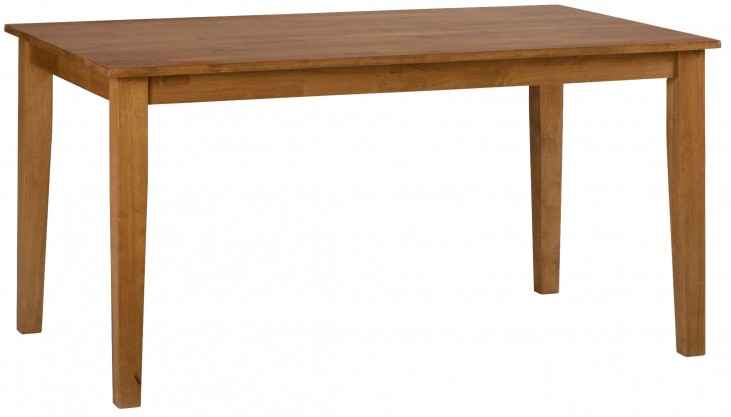 Simplicity Honey Rectangular Dining Table