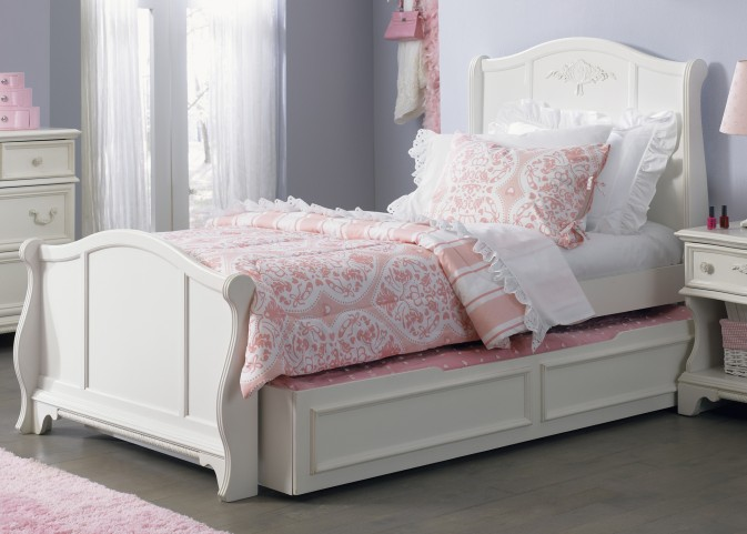 Arielle Twin Sleigh Bed