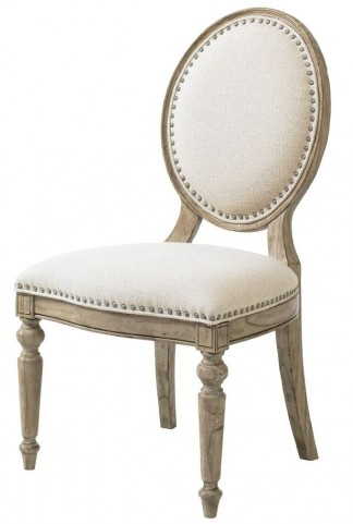 Twilight Bay Antique Linen Byerly Side Chair