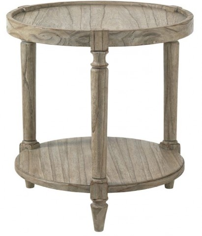 Twilight Bay Antique Linen Phoebe Lamp Table