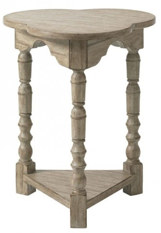 Twilight Bay Antique Linen Bailey Chairside Table