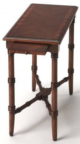 Skilling Antique Cherry Chairside Table
