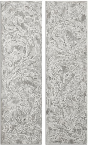 Frost On The Window Wall Art Set of 2