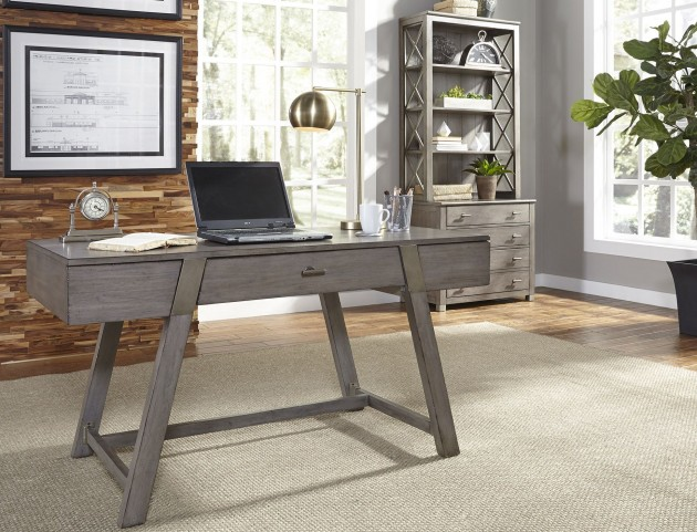 Moss Creek Gray Home Office Set