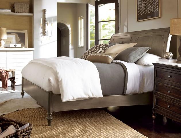 Proximity Urban Sleigh Bedroom Set