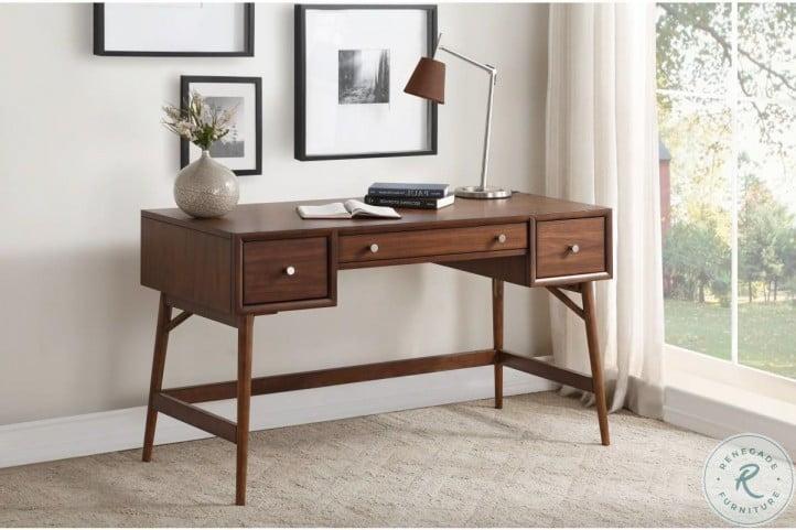 Frolic Brown Writing Desk
