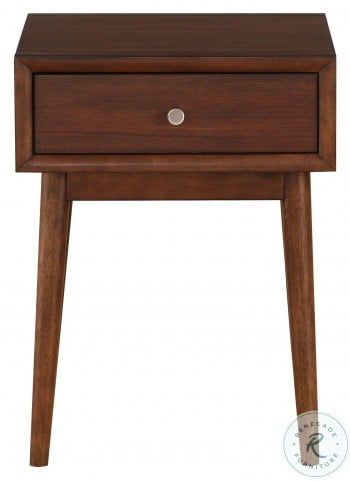 Frolic Brown 1 Drawer End Table