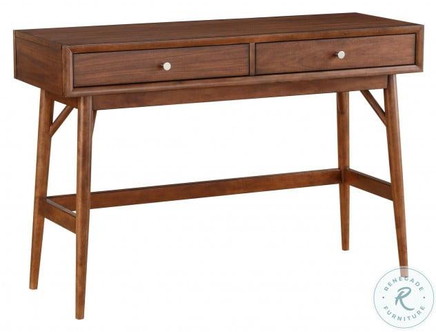 Frolic Brown 2 Drawer Sofa Table