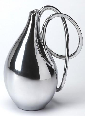 3594016 Hors D'Oeuvres Polished Aluminum Vase