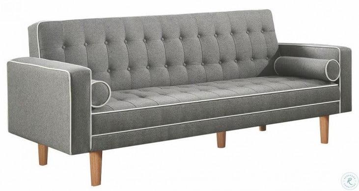 Swell Luske Grey Woven Sofa Bed By Scott Living Inzonedesignstudio Interior Chair Design Inzonedesignstudiocom