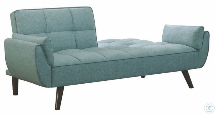 Excellent Cheyenne Turquoise Blue Sofa Bed By Scott Living Inzonedesignstudio Interior Chair Design Inzonedesignstudiocom
