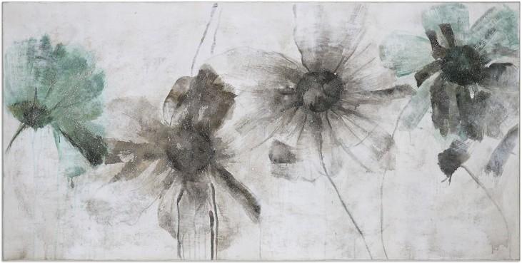 Daisy Shadows Floral Art