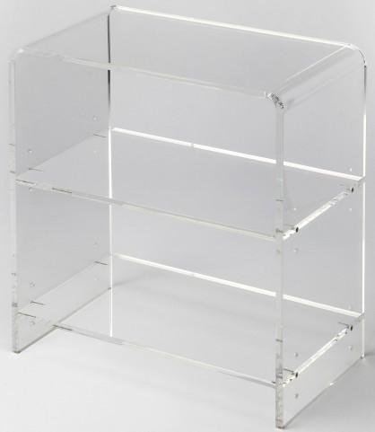 Crystal Clear Acrylic Bookcase