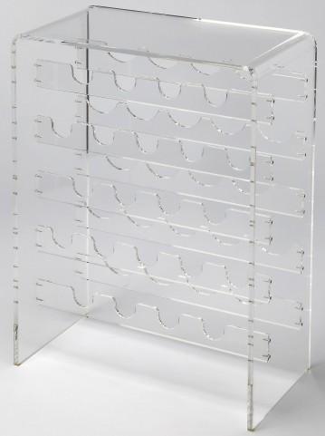 Crystal Clear Acrylic Wine Rack
