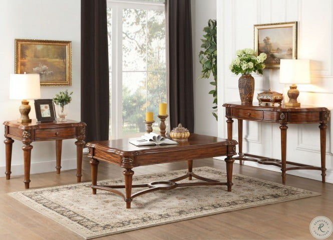 Barbary Cherry Sofa Table