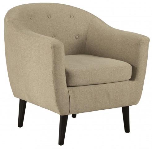 Klorey Khaki Accent Chair
