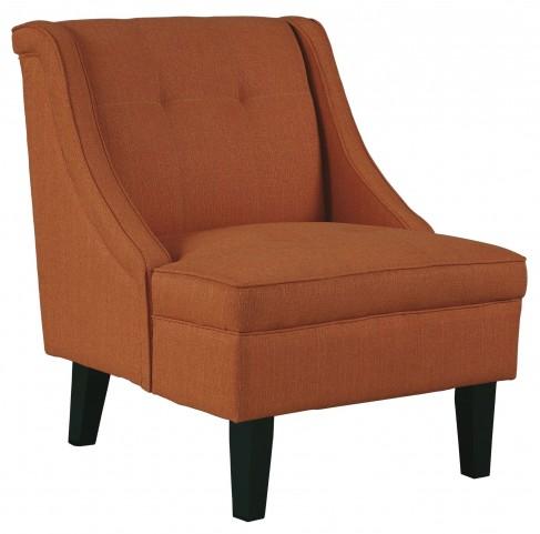 Clarinda Orange Accent Chair