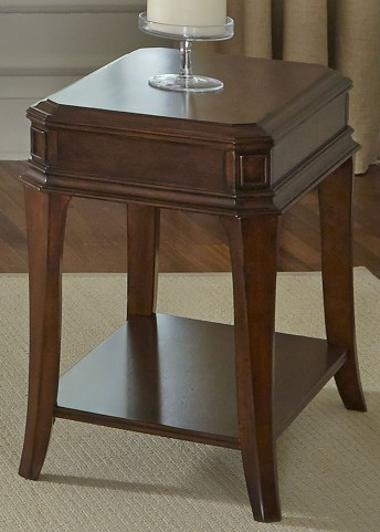 Brighton Park Dark Honey Chair Side Table