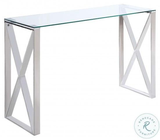 Rush Chrome Sofa Table