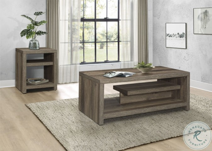 Danio Rustic Natural Cocktail Table
