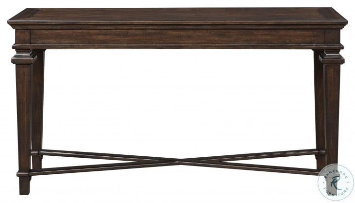 Tobias Espresso Sofa Table