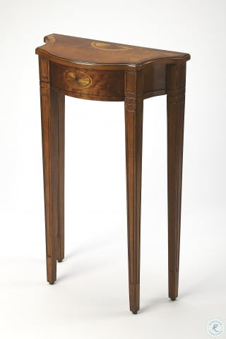 Chester Olive Ash Burl Console Table