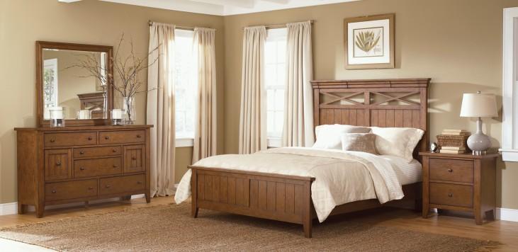 Hearthstone Panel Bedroom Set