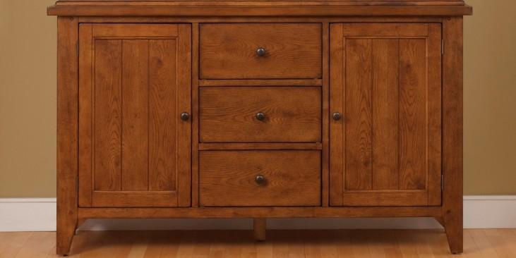 Hearthstone Rustic Oak Buffet