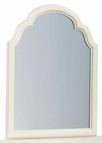 Inspirations Seashell White Portrait Mirror