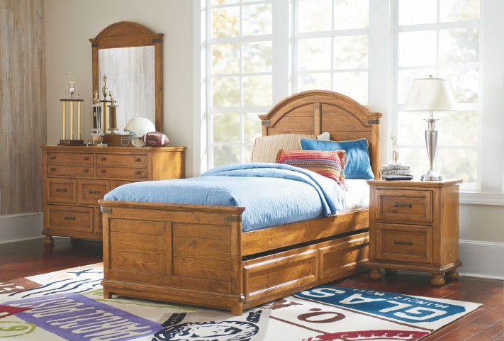 Bryce Canyon Youth Arched Panel Bedroom Set
