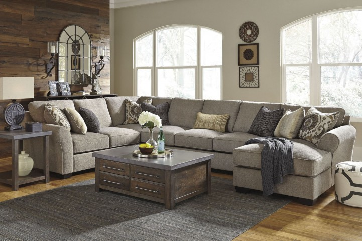 Pantomine Driftwood RAF Large Chaise Sectional
