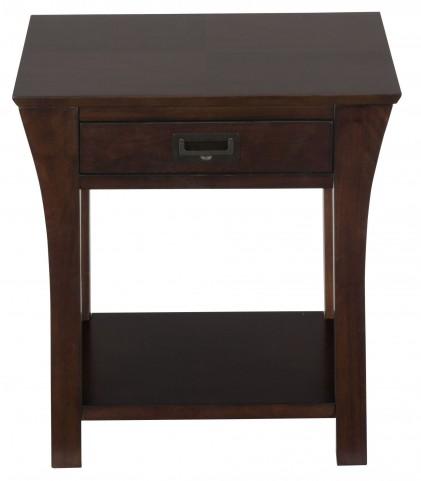 Artisan Dark Brown End Table
