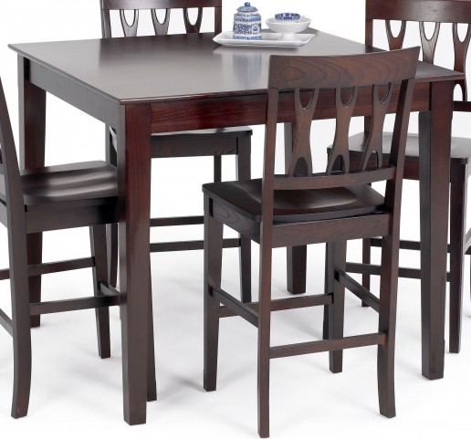 Abbie Bordeaux Counter Dining Table