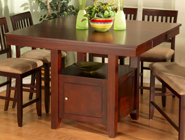 Brendan Extendable Counter Height Storage Table