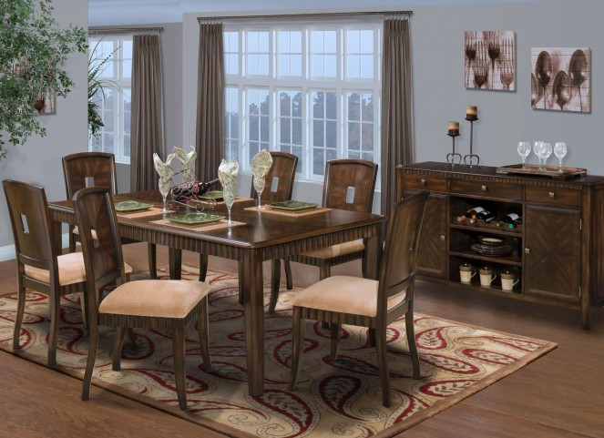Edgemont Counter Extendable Dining Room Set