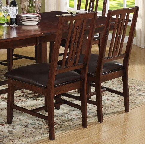Madera African Chestnut Chair Set of 2