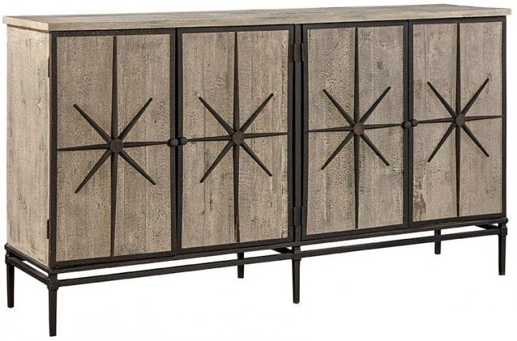 Mallory Brown Sideboard