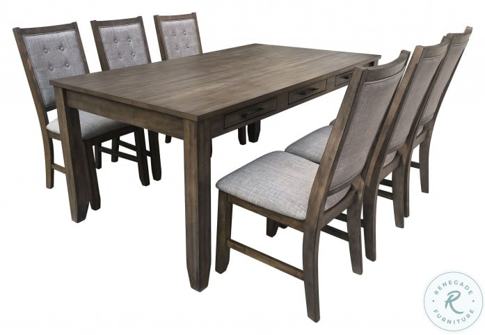 Cagney Gray Dining Table From New Classic Coleman Furniture