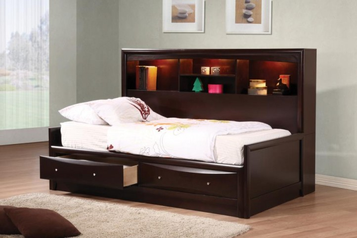 Phoenix Full Storage Day Bed