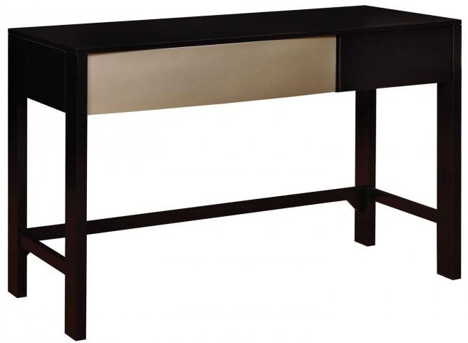 Havering Black and Sterling Desk